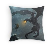 The elder scrolls v Throw Pillow