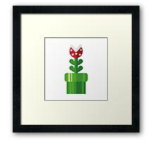 Pipe plant Framed Print
