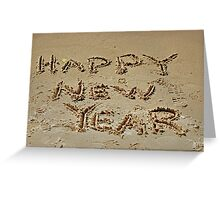 In Sand Greeting Card