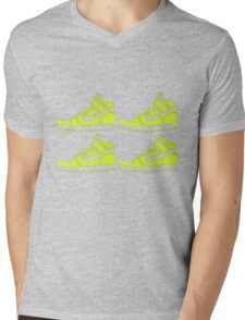 dunk stencil Mens V-Neck T-Shirt