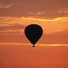 Sunrise ballooning over the Masai Mara by Mel1973