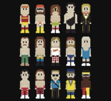 8-Bit Wrestling! One Piece - Short Sleeve