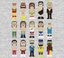 8-Bit Wrestling! One Piece - Long Sleeve