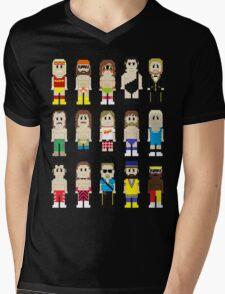 8-Bit Wrestling! Mens V-Neck T-Shirt