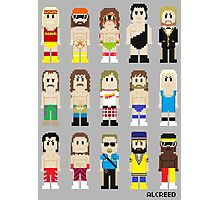 8-Bit Wrestling! Photographic Print
