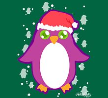Penguin Santa Unisex T-Shirt