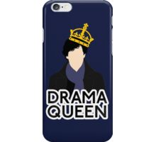 Sherlock - Drama Queen iPhone Case/Skin