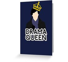 Sherlock - Drama Queen Greeting Card