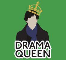 Sherlock - Drama Queen Kids Clothes