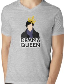 Sherlock - Drama Queen Mens V-Neck T-Shirt