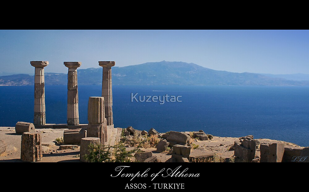 Temple Of Athena / ASSOS -Turkiye by Kuzeytac