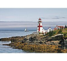 East Quoddy Lighthouse Photographic Print
