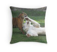 Tiger Island, Dreamworld Throw Pillow