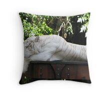 White Tiger, Dreamworld Throw Pillow