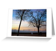 The Coast at evening Greeting Card