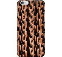 Rusted chains iPhone Case/Skin
