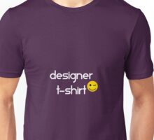 Designer T-Shirt Smiley Unisex T-Shirt