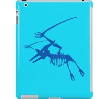 Dino in Blues iPad Case/Skin
