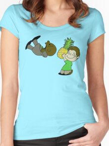 Psych! (Green Version) Women's Fitted Scoop T-Shirt
