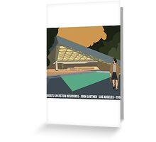 Goldstein House John Lautner Architecture Tshirt Greeting Card