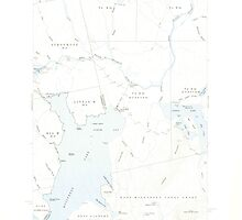 Maine USGS Historical Map North East Carry 460677 1954 62500 by wetdryvac