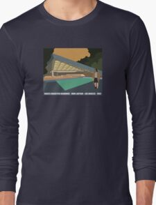 Goldstein House John Lautner Architecture Tshirt Long Sleeve T-Shirt