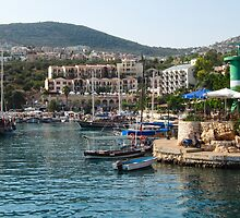 Entering Kalkan Harbour by TomGreenPhotos