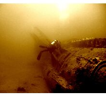 The Wreck of the U352 Photographic Print