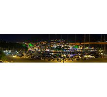 Kalkan Harbour Night Panorama Photographic Print