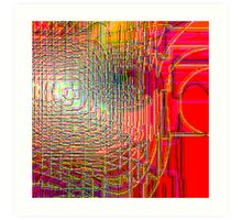 Pipe Overlay III  (from the Speck of a Pigeon's Eye series) Art Print