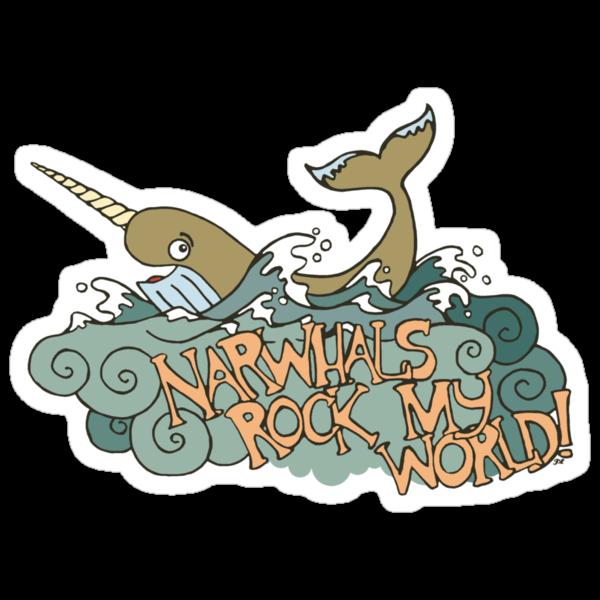 Narwhals Rock My World! by wonderjosh
