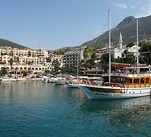 Kalkan Harbour by TomGreenPhotos