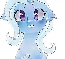 Shocked Trixie My Little Pony by oouichi