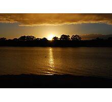 Sunrise - Mannum - South Australia Photographic Print