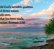 Romans 1:20 by Dave  Gosling Designs