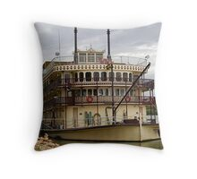 Murray Princess - Mannum - South Australia Throw Pillow