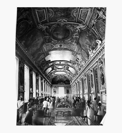 Le Musee du Louvre Poster