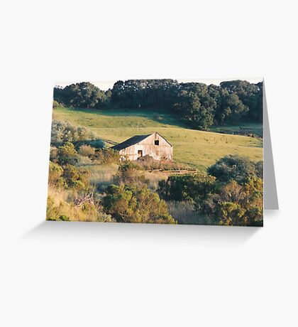 Familiar Barn Gone Greeting Card
