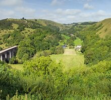 Monsal Head Panorama by TomGreenPhotos