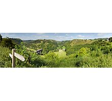 Monsal Head Panorama Photographic Print