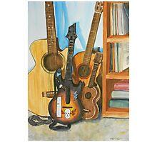 Guitar Heroes Photographic Print