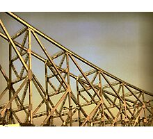 They built it high and they built it strong Photographic Print
