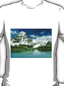 Cold mountains matte painting T-Shirt
