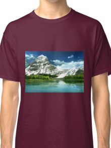 Cold mountains matte painting Classic T-Shirt