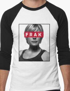 Starbuck - Frak - Battlestar Galactica Men's Baseball ¾ T-Shirt