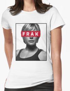 Starbuck - Frak - Battlestar Galactica Womens Fitted T-Shirt
