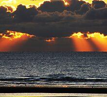 Sunset over Blackpool  by Mike Davitt