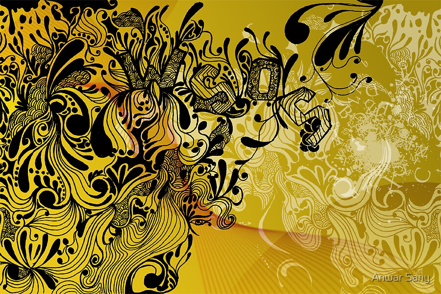 Doodles..meaningless by Anwar Sany
