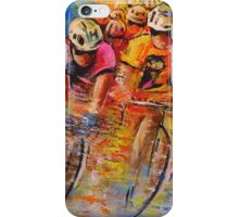 Tour De France 03 In Acrylics iPhone Case/Skin