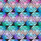 Tie Dye Diamond by Keelin  Small